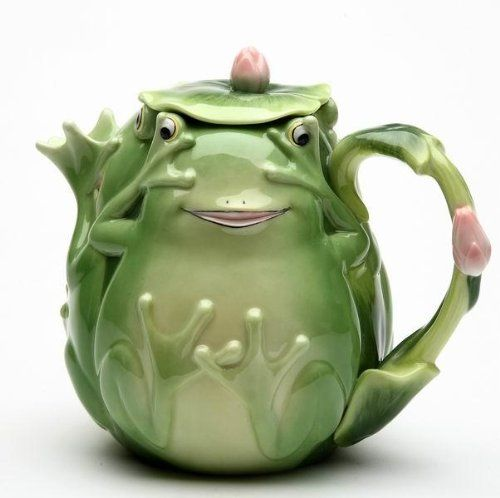 6.25 inch Playful Smiling Green Fairy Frog Teapot with Lily Pad Lid ATD,http://www.amazon.com/dp/B008JLOC38/ref=cm_sw_r_pi_dp_c5U2sb16HE7X47BG