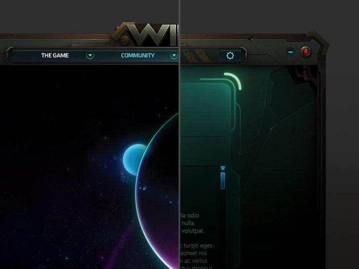 Wildstar Launcher Concept by Miguel Angel Durán on Dribbble