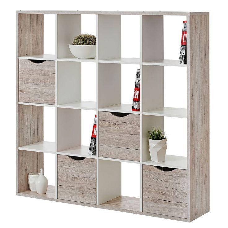 Awesome Raumteiler Annecy Sandeiche Wei cm cm roomscape Jetzt bestellen unter https moebel ladendirekt de wohnzimmer regale raumteiler uid ud