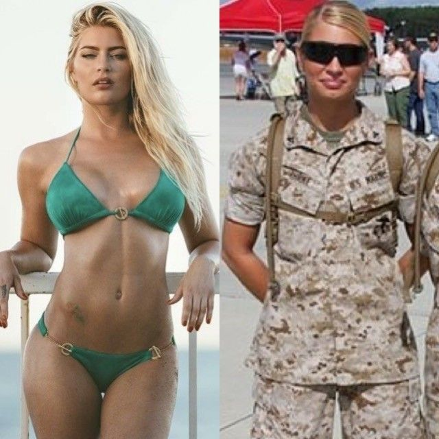 Anal female marines in bikinis young
