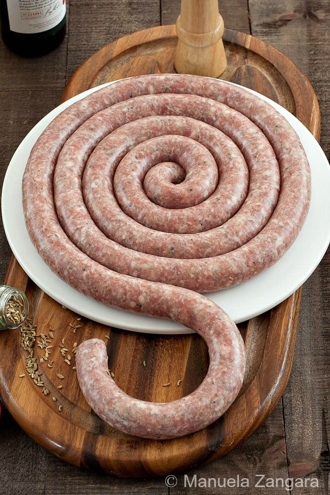 Home-made Sicilian Pork Sausage with Fennel by @Manuela Bernardi Bernardi Zangara