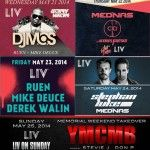 club liv miami memorial day weekend 2014
