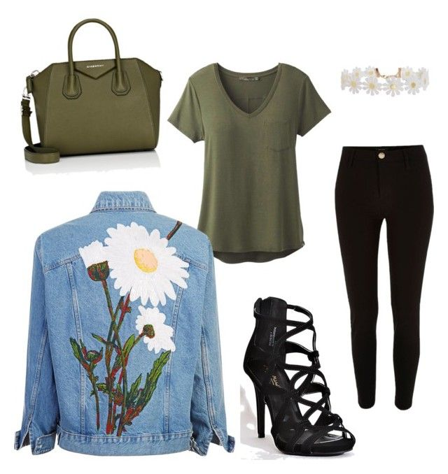 """""""Sin título #144"""" by kikaa18 on Polyvore featuring moda, prAna, River Island, Humble Chic y Givenchy"""