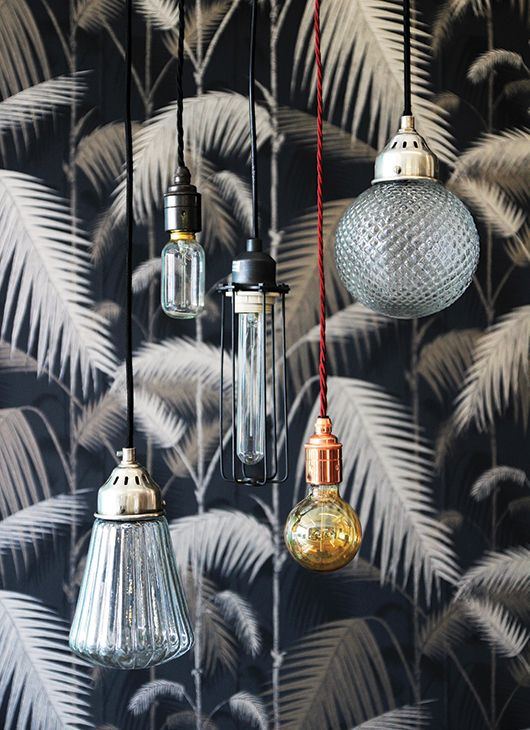 Industrial style light bulb pendants | rockett st. george | sfgirlbybay