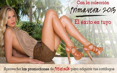 Catálogos Andrea primavera 2015 preventa