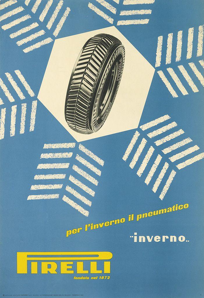Bob Noorda, Pirelli, 1953.