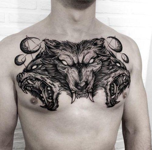 Diseños De Tatuajes En El Pecho Para Hombres Tatts Tatuajes
