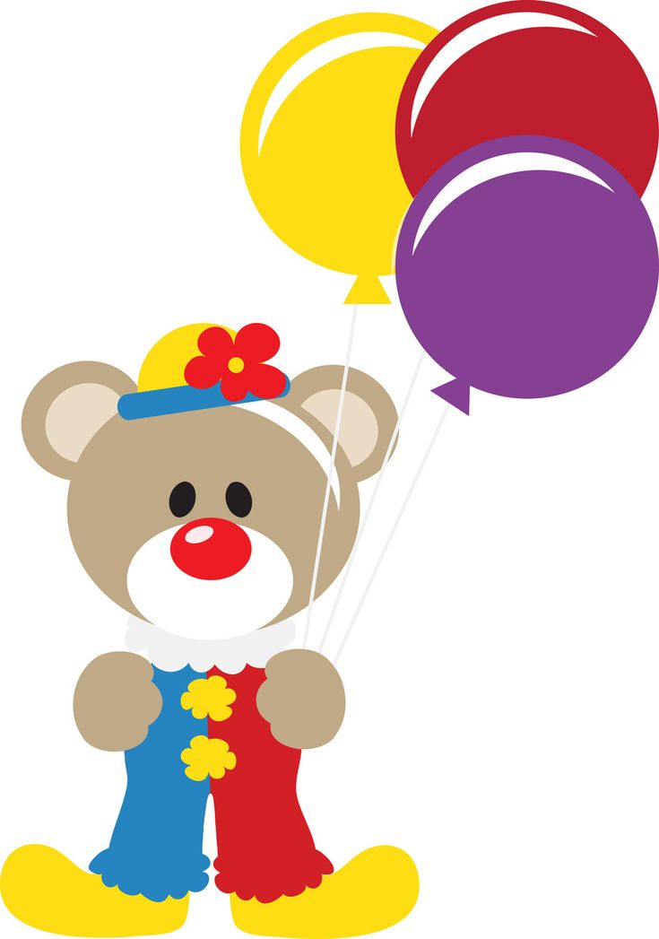 clip art clowns with balloons - photo #25