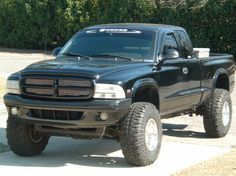 "lifted dodge dakota truck | 1999 Dodge Dakota Regular Cab & Chassis ""The goat"" - Sumter, SC owned ..."
