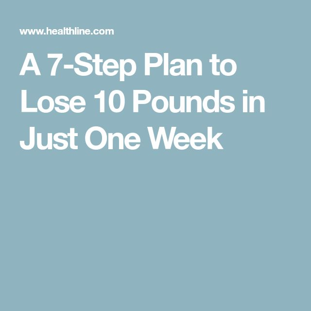 how to lose 30 pounds in 1 week without exercise