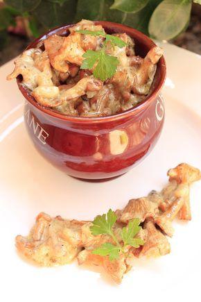 Nieziemski sos kurkowy - Przepis na sos kurkowy, kurki w śmietanie przepis