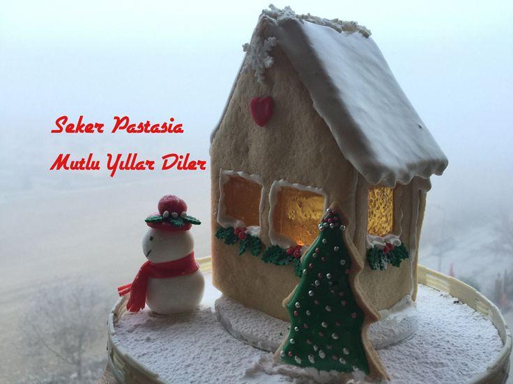 Kurabiye Ev - Gingerbread House 10 x 17