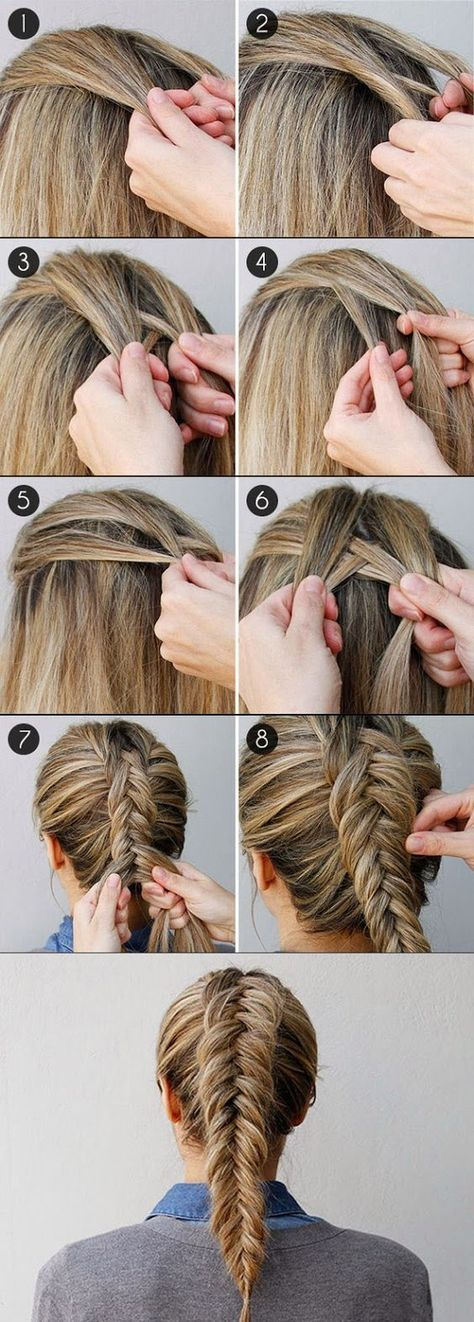 cool 19 Simple-Haar Tutorials für den Sommer 2016