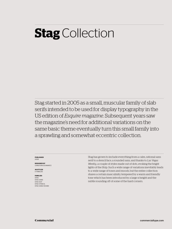 Stag Commercial Type