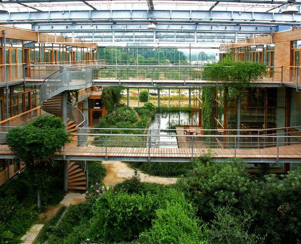 Eco+Architecture | Squish Blog: IBN WAGENINGEN ATRIUM - green architecture, sustainable ...