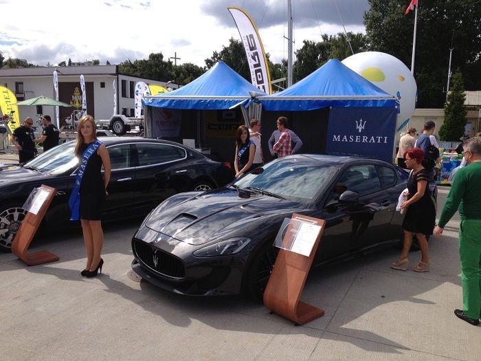 Targi Wiatr i Woda w Gdyni razem z Maserati GranTurismo