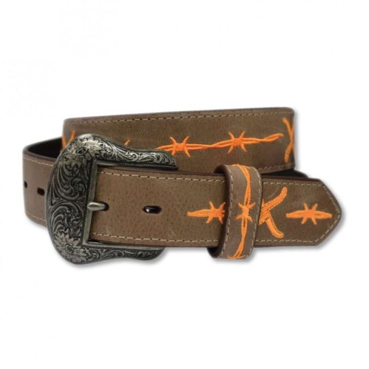 TWISTED X MENS ORANGE WIRE BELT   The perfect belt for every rodeoing cowboy! $79.95