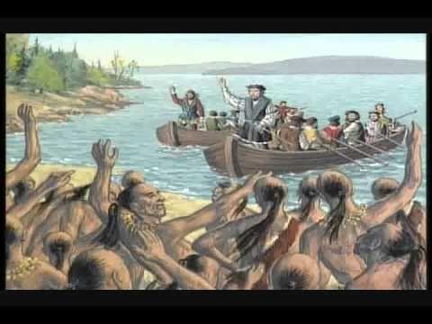 Histoire du Québec 2 - Jacques Cartier 1534 - YouTube