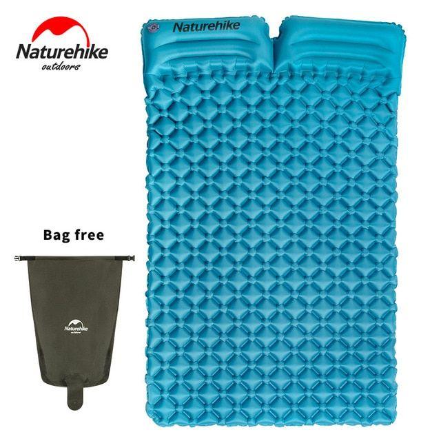 4 Color Double Self Inflating Pad Sleeping Mattress Air Bed Camping Hiking Mat