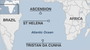 Saint Helena, Ascension and Tristan da Cunha is a British overseas territory in the southern Atlantic Ocean consisting of the island of Saint Helena, Ascension Island and the island group called Tristan da Cunha.