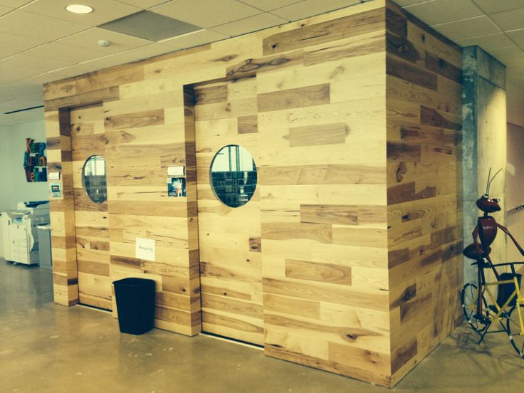 Character Grade Pecan Wood Flooring On The Wall Www