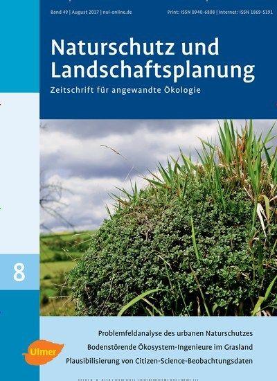 Problemfeldanalyse des urbanen #Naturschutz 🌳 Jetzt in Naturschutz und Landschaftsplanung  #urban #nature #Landschaft