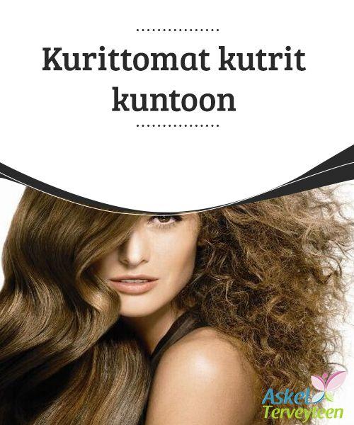 Kurittomat kutrit kuntoon  Yleisin #tukkaongelma #kaikenikäisillä on hiusten #pörröttyminen ja harottaminen, etenkin silloin, kun ilmasto panee hiukset koetukselle.  #Kauneus