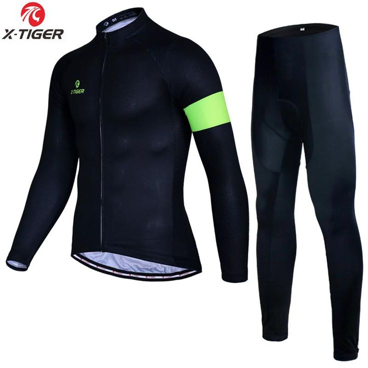 X-Tiger New Arrival Winter Thermal Fleece Cycling Jerseys Set Bike Sportswear Maillot Ropa Ciclismo Invierno MTB Bicycle Jerseys