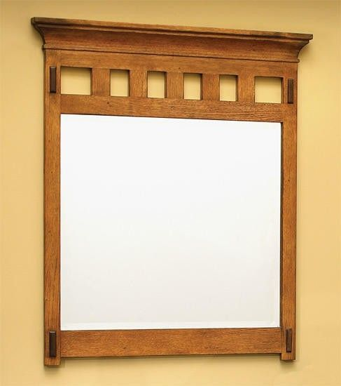 American Craftsman Vanity Mirror