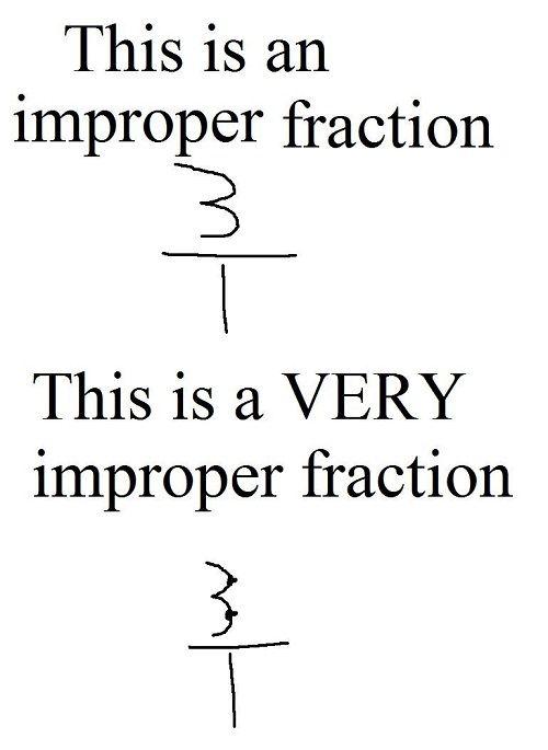 improper fractions demetri martin
