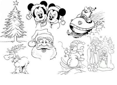 disegni da colorare natalizi ( Bellissimo sito con tantissimi  disegni di ogni genere )