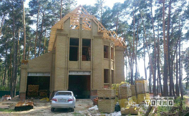 Строительство особняка в п. Трегуляй  Архитектор ЛЕВИН ИЛЬЯ