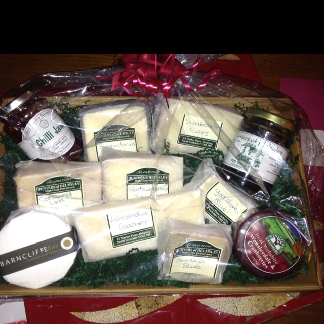 Yorkshire cheeses from Hunters of Helmsley