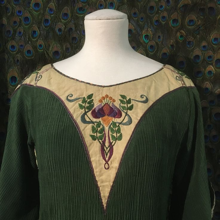 1920s dress in Liberty's of London fabric