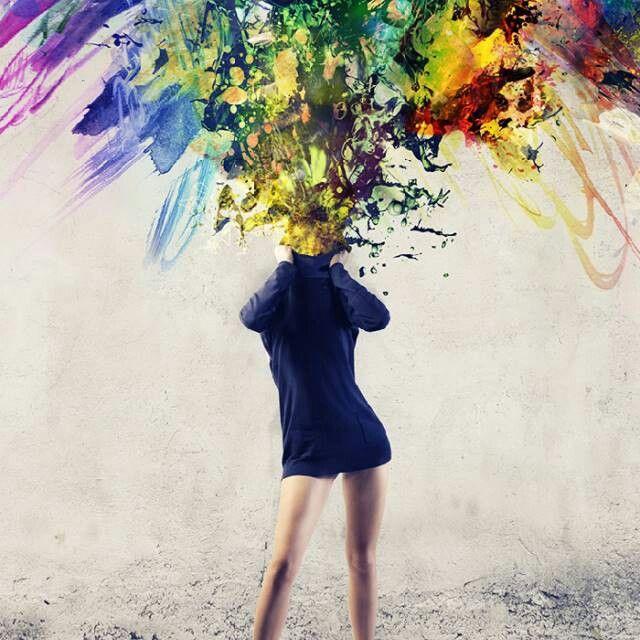 Inspiration, colorful, illustration