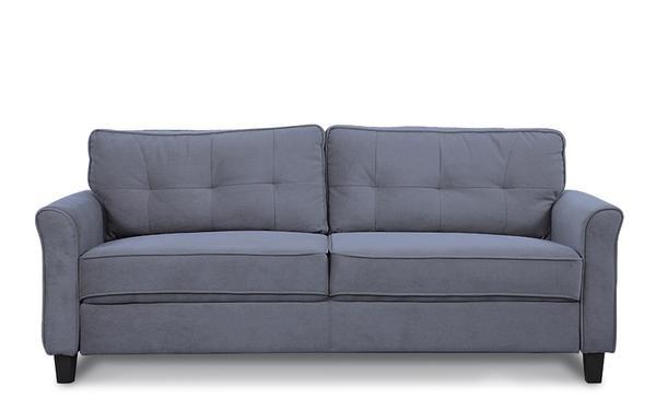 Groovy Agnes Classic Microfiber Sofa Home In 2019 Microfiber Machost Co Dining Chair Design Ideas Machostcouk