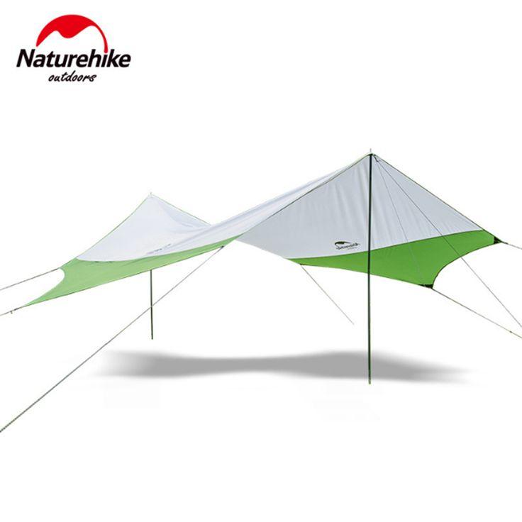Naturehike New Hexagon Tile Outdoor UV Beach Rainproof Awning Camping Large Arbor