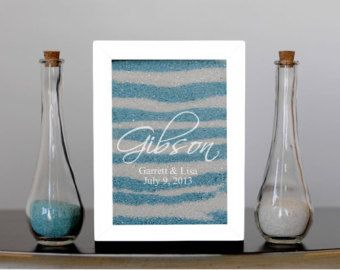 Unity Sand Ceremony Frame Set Shadow Box With by SayAnythingDesign
