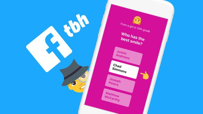 Facebook acquires anonymous teen compliment app tbh will let it run #Startups #Tech