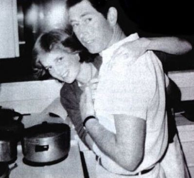 Rare and early casual shot of Prince and Princess of Wales.