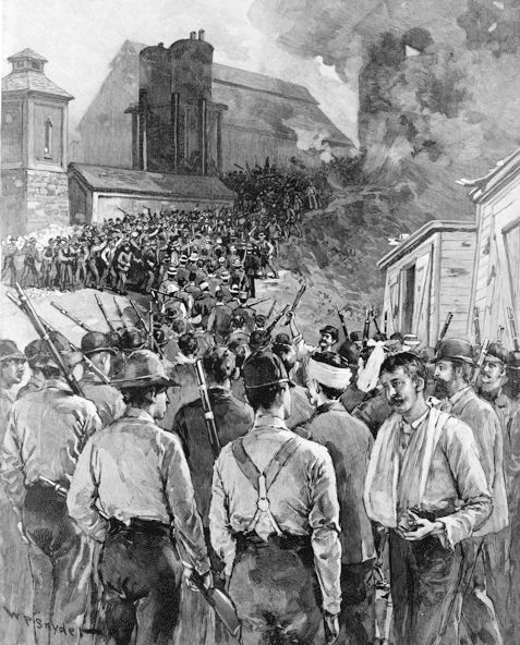 late 1800 homestead | The Homestead Strike is famous as an example of the struggles between ...