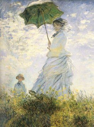 Η Κυρια Μονε Με Το Γιο Της, Κλωντ Μονέ | Καμβάς, αφίσα, κορνίζα, λαδοτυπία, πίνακες ζωγραφικής | Artivity.gr