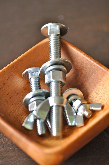 Nuts and bolt bowl