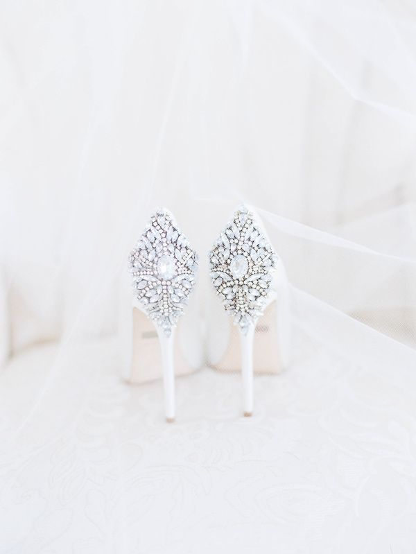 Stepping Out in the Best Wedding Shoes Ever - Photography: Ashley Slater via Ruffled