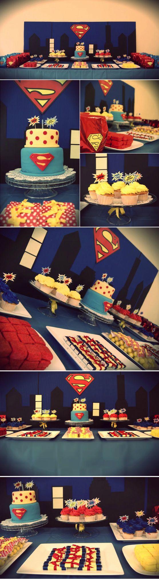 Best 25+ Superman party decorations ideas on Pinterest | Superman ...