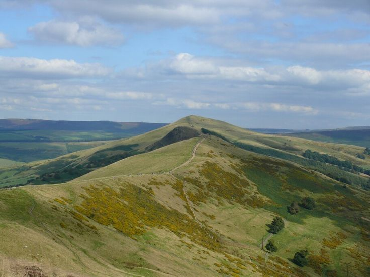 Mam tor. Peak district. England