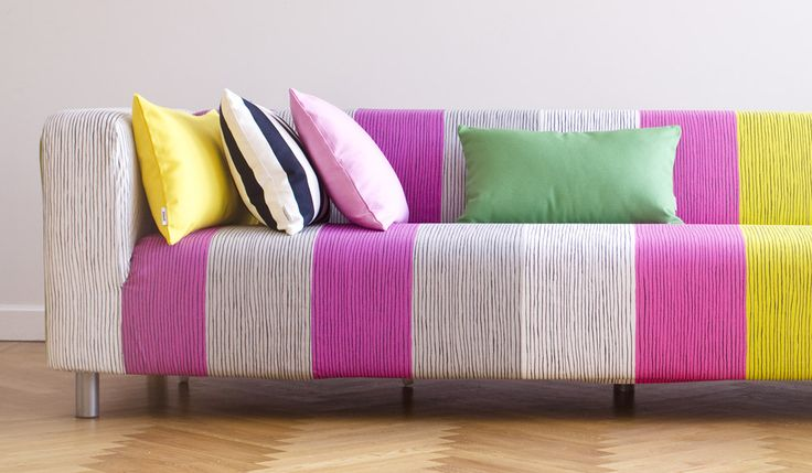I love my klippan upcycle your sofa with a bemz designer for Canape klippan ikea