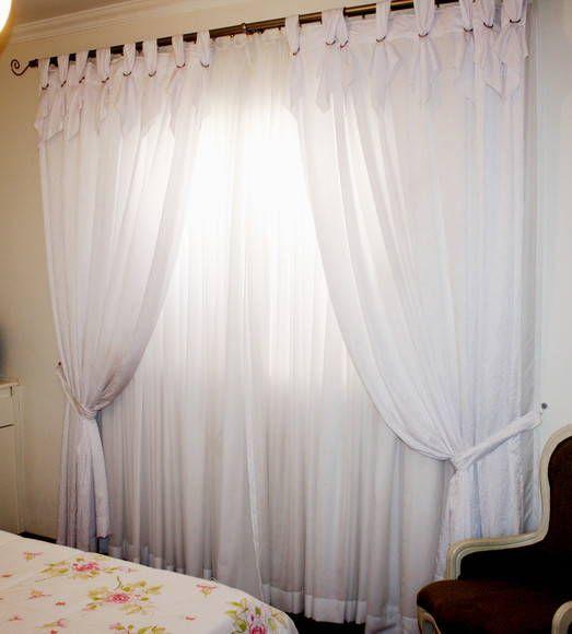 Tipos de cortinas modernas e aconchegantes cortinas for Tipos de cortinas y estores