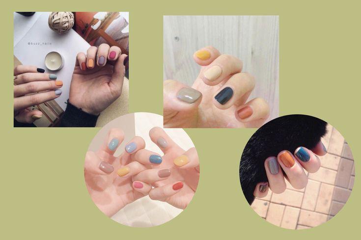 color nails | Nail colors, Nails, Color