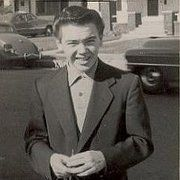 Bobby Driscoll @ abt 16.  He had such a sad lonely death!  RIP Bobby.  You are loved  & missed!